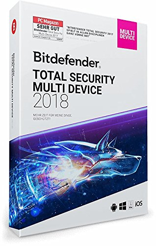 Bitdefender Total Security Multi Device 2018 – 5 Geräte