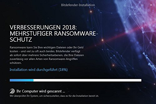 Bitdefender Total Security Multi Device 2018 – 5 Geräte | 3 Jahre / 1095 Tage (MAC, Windows, Android & iOS) - Aktivierungscode - 5