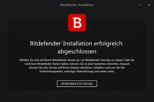 Bitdefender Total Security Multi Device 2018 – 5 Geräte | 3 Jahre / 1095 Tage (MAC, Windows, Android & iOS) - Aktivierungscode - 8