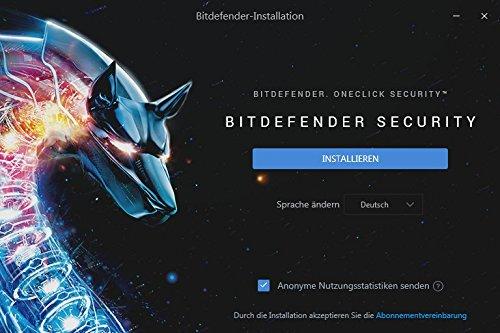 Bitdefender Antivirus Plus 2018 – 1 PC | 2 Jahre / 730 Tage (Windows) - Aktivierungscode - 3