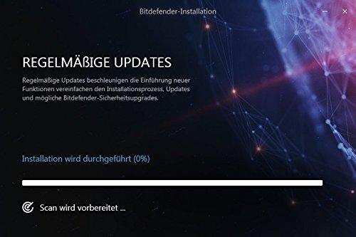 Bitdefender Antivirus Plus 2018 – 1 PC | 2 Jahre / 730 Tage (Windows) - Aktivierungscode - 5