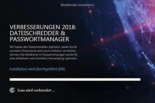 Bitdefender Antivirus Plus 2018 – 1 PC | 2 Jahre / 730 Tage (Windows) - Aktivierungscode - 6