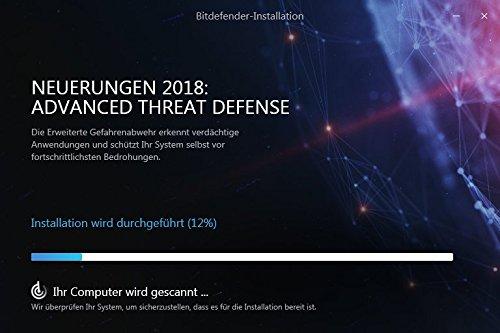 Bitdefender Antivirus Plus 2018 – 1 PC | 2 Jahre / 730 Tage (Windows) - Aktivierungscode - 7