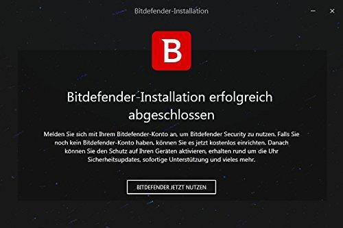 Bitdefender Antivirus Plus 2018 – 1 PC | 2 Jahre / 730 Tage (Windows) - Aktivierungscode - 8