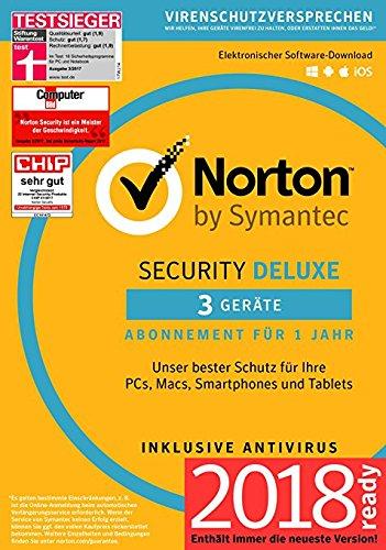 Norton Security Deluxe Antivirus Software 2018