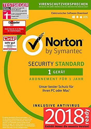 Norton Security Standard Antivirus Software 2018