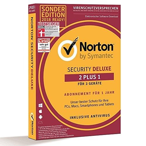 Norton Security Deluxe Sonderedition 2018