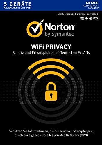 Norton WiFi Privacy für 5 Geräte