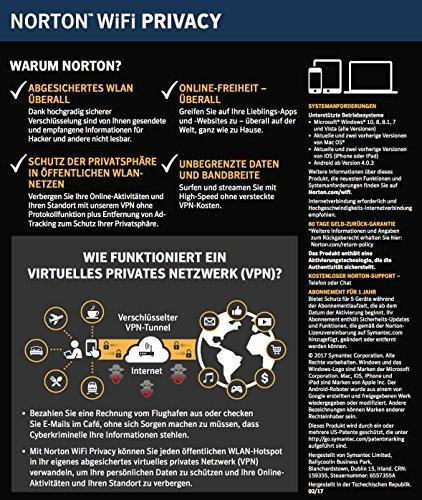Norton WiFi Privacy für 5 Geräte - 2