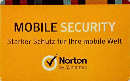 Norton Mobile Security 3.0 (Lizenzkarte)