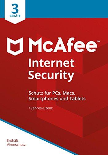McAfee Internet Security 2018 3 Geräte | 1 Jahr