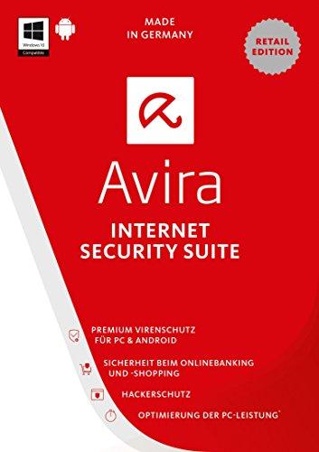 Avira Internet Security Suite 2017, 1 Gerät, 1 Jahr