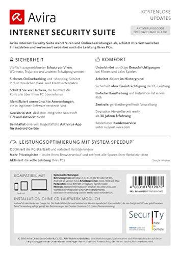 Avira Internet Security Suite 2017 [1 Gerät / 1 Jahr] - 3