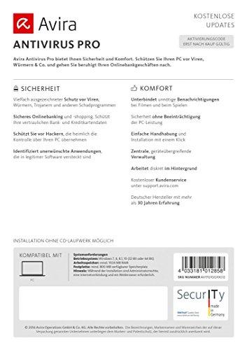 Avira AntiVirus Pro 2017 [1 Gerät / 1 Jahr] - 3