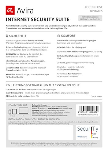 Avira Internet Security Suite 2017 [2 Geräte / 1 Jahr] - 3