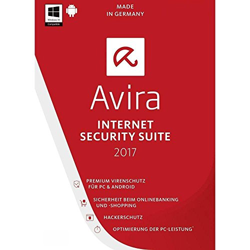 Avira Internet Security 2017 / 5 PC + 5 Android / 1 Jahr