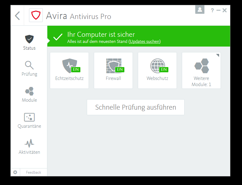 Avira Internet Security Plus Edition 2018 / Sicheres Virenschutzprogramm inkl. Avira System Speedup (Jahres-Abonnement) für 4 Geräte / Download für Windows (7, 8, 8.1, 10), Mac & Android [Online Code] - 3