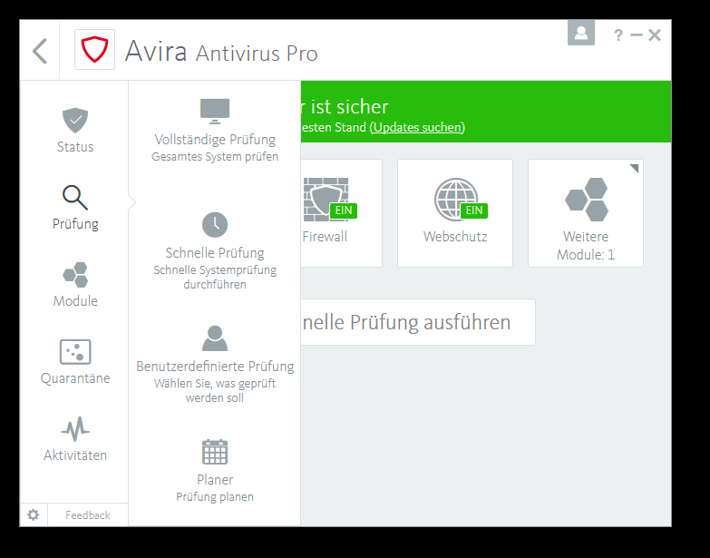 Avira Internet Security Plus Edition 2018 / Sicheres Virenschutzprogramm inkl. Avira System Speedup (Jahres-Abonnement) für 4 Geräte / Download für Windows (7, 8, 8.1, 10), Mac & Android [Online Code] - 5