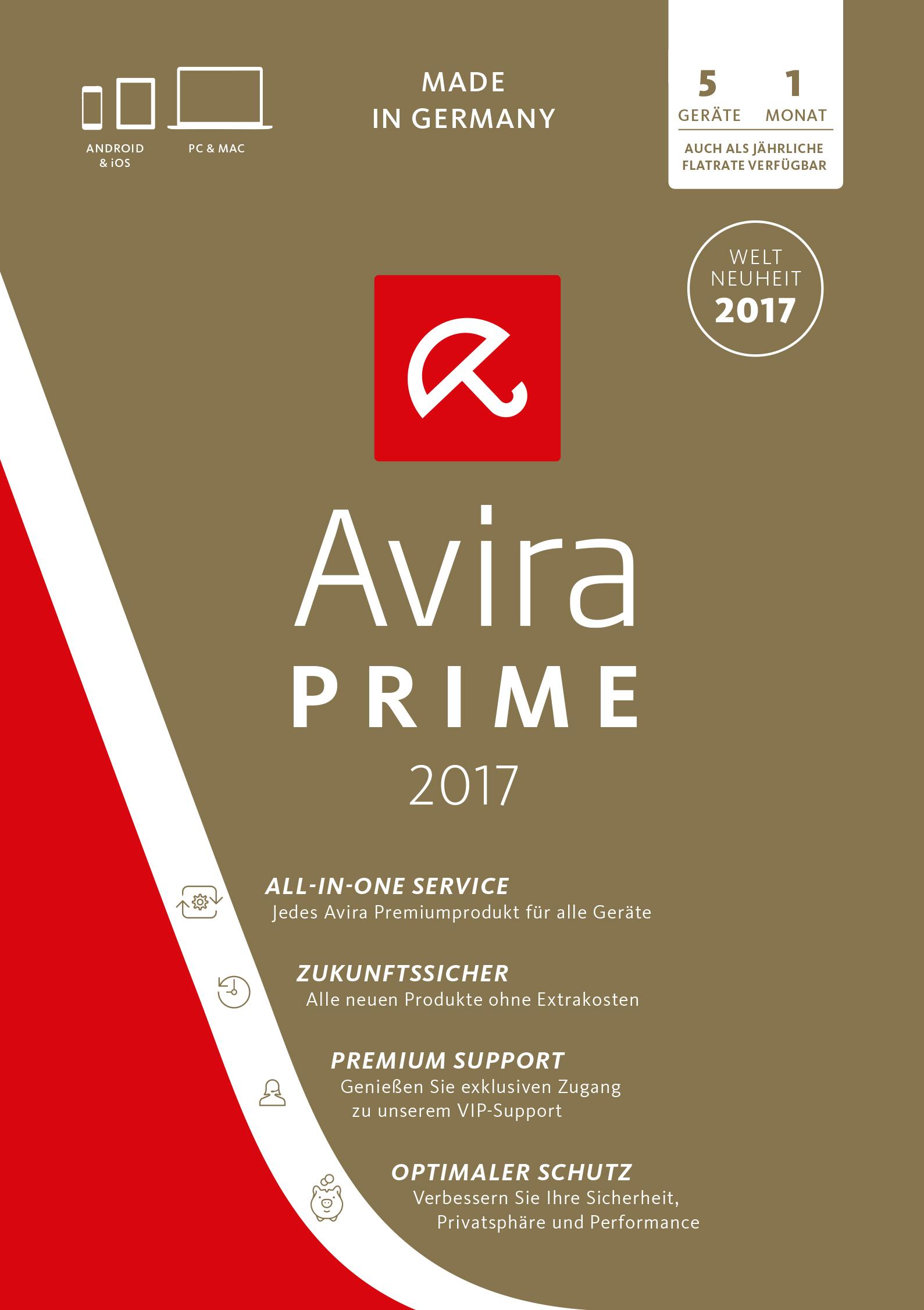 Avira Prime [Online Code]