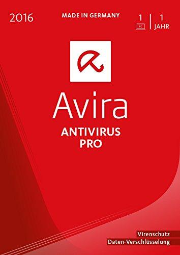 Avira AntiVirus Pro 2016 - 1 Gerät / 1 Jahr