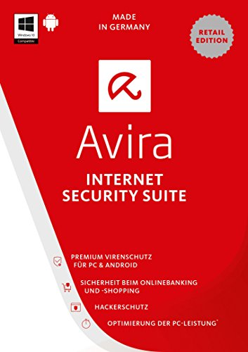Avira Internet Security Suite 2017, 4 Geräte, 1 Jahr