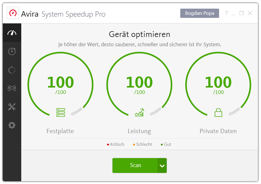 Avira Internet Security Plus Edition 2018 / Sicheres Virenschutzprogramm inkl. Avira System Speedup (2-Jahres-Abonnement) für 1 Gerät / Download für  Download für Windows (7, 8, 8.1, 10), Mac & Android [Online Code] - 4