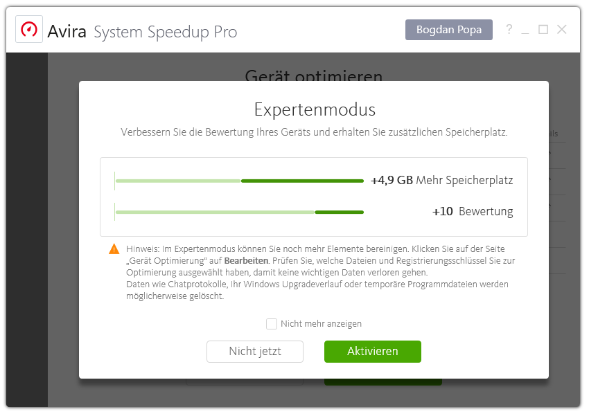 Avira Internet Security Plus Edition 2018 / Sicheres Virenschutzprogramm inkl. Avira System Speedup (2-Jahres-Abonnement) für 1 Gerät / Download für  Download für Windows (7, 8, 8.1, 10), Mac & Android [Online Code] - 6