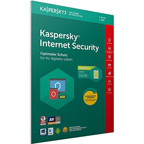 Kaspersky Internet Security 2018 Standard, 1 Gerät