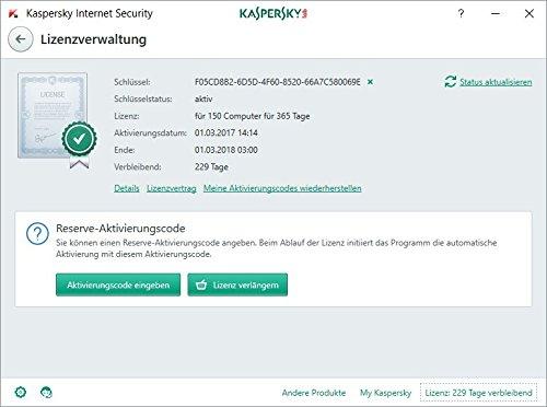 Kaspersky Internet Security 2018 Standard | 1 Gerät | 1 Jahr | Windows/Mac/Android + Mobiler Schutz | Download - 6