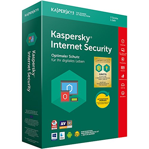 Kaspersky Internet Security 2018 Standard, Limited