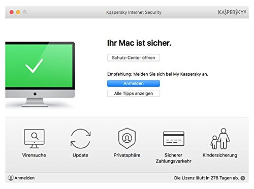 Kaspersky Internet Security 2018 Standard | 2 Geräte | 1 Jahr | Limited: + 2 Android-Schutz + 2 Password Manager | Windows/Mac/Android | Download - 4