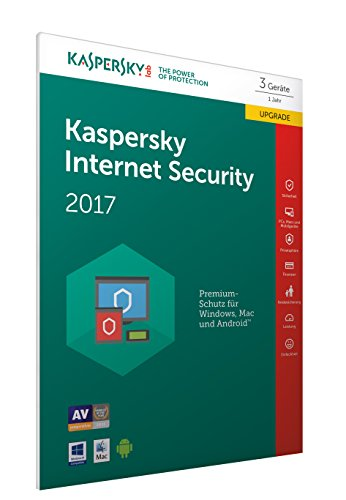 Kaspersky Internet Security Upgrade 2017, 3 Geräte, 1 Jahr