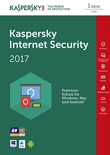 Kaspersky Internet Security 2017 - 1 PC - [Code in Box] - 2