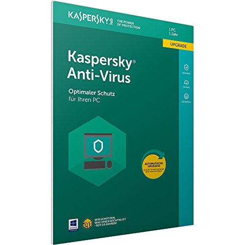 Kaspersky Anti-Virus 2018 Upgrade | 1 Gerät | 1 Jahr