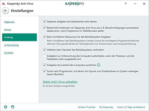 Kaspersky Anti-Virus 2018 Upgrade | 1 Gerät | 1 Jahr | Windows | Download - 5