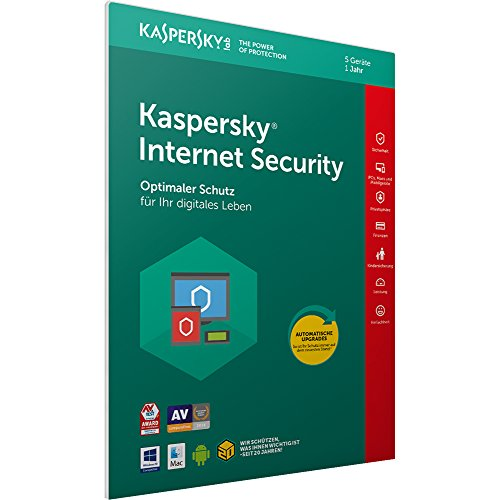 Kaspersky Internet Security 2018 Standard, 5 Geräte
