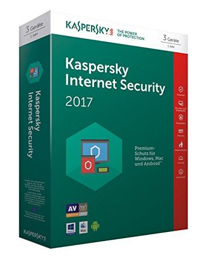 Kaspersky Internet Security 2017 | 3 Geräte | 1 Jahr