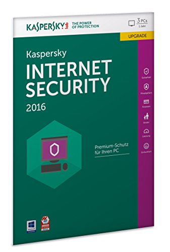 Kaspersky Internet Security 2016 Upgrade - 3 PCs / 1 Jahr