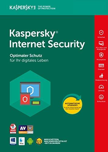 Kaspersky Internet Security Neu 2018, 3 Geräte, 1 Jahr