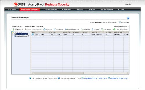 Trend Micro Worry-Free Business Security Advanced Version 6.x (20 User, Verlängerung) - 5