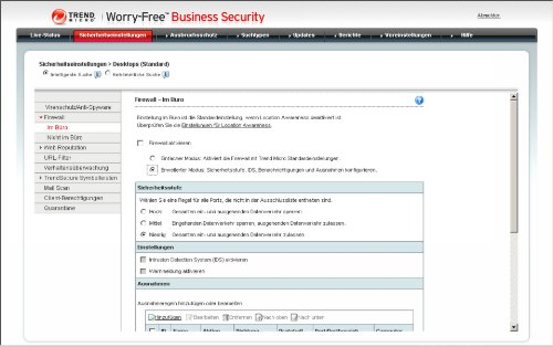 Trend Micro Worry-Free Business Security Advanced Version 6.x (20 User, Verlängerung) - 7