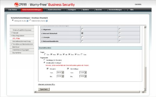 Trend Micro Worry-Free Business Security Advanced Version 6.x (20 User, Verlängerung) - 9