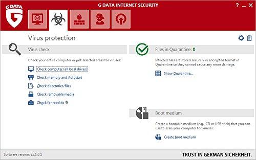 G Data Internet Security (Jubiläumsversion) - 3 PCs / 1 Jahr - 3