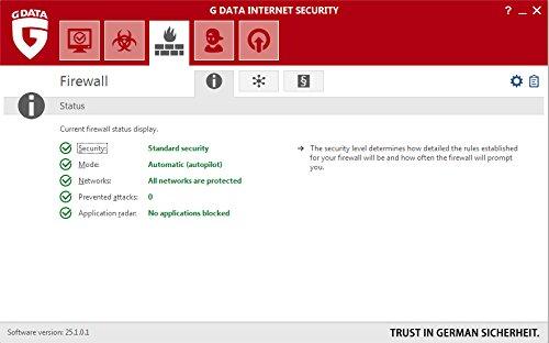 G Data Internet Security (Jubiläumsversion) - 3 PCs / 1 Jahr - 4