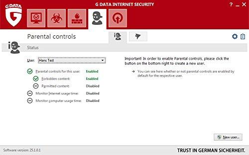 G Data Internet Security (Jubiläumsversion) - 3 PCs / 1 Jahr - 5