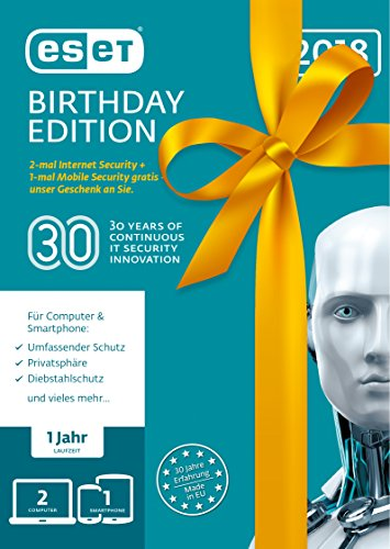 ESET Birthday Edition | 2x Internet Security & 1x Mobile Security