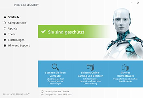 ESET Birthday Edition |2x Internet Security & 1x Mobile Security | Insgesamt 3 Geräte | 1 Jahr Virenschutz | Für Windows (10, 8, 7 und Vista) und Android | Download - 4
