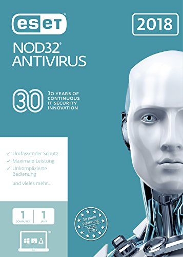ESET NOD32 Antivirus (2018) Edition 1 User (FFP)