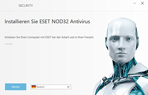 ESET NOD32 Antivirus (2018) Edition 1 User (FFP) Software - 2