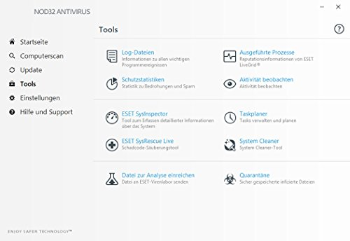 ESET NOD32 Antivirus (2018) Edition 1 User (FFP) Software - 6
